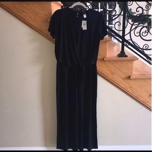 J. Jill Wearever Collection Black Jumpsuit